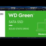 WD Green SATA SSD 240 GB